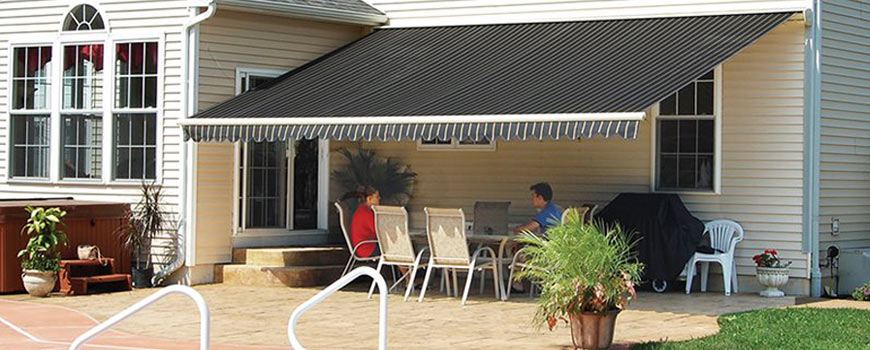 Retractable Awnings And Window Awnings Holly Hill Pool Patio