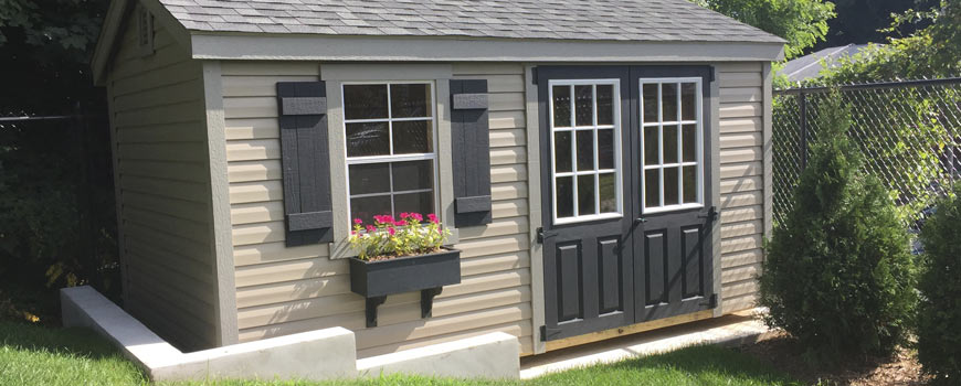 Custom Built Storage Sheds Professional Installation Available